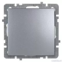 Nilson Touran серебро механизм выключатель 1кл