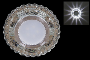 Св-к Электра 14318-9.0-001LD MR16 + LED WT